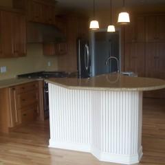 Custom home interior kitchen